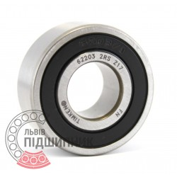 62203 2RS [Timken] Deep groove ball bearing