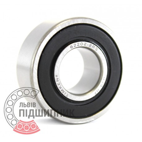 62202 2RS [Timken] Deep groove ball bearing