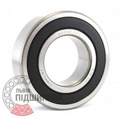 62208 2RS [Timken] Deep groove ball bearing