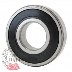 6307 2RS [Timken] Deep groove ball bearing