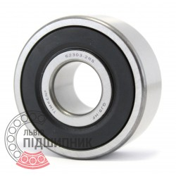 62303 2RS [Timken] Deep groove ball bearing
