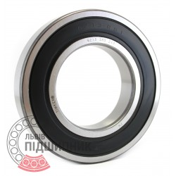 6213 2RS [Timken] Deep groove ball bearing