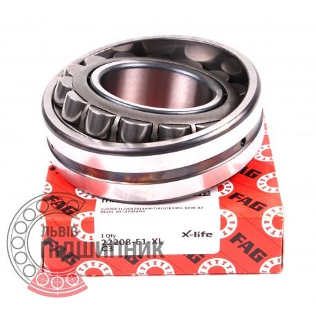 53508   22208-E1-C3 [FAG Schaeffler] Сферичний роликовий підшипник