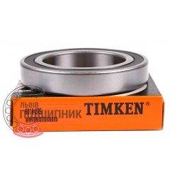 6018 2RS [Timken] Deep groove ball bearing