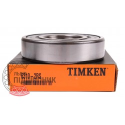6310 2RS [Timken] Deep groove ball bearing