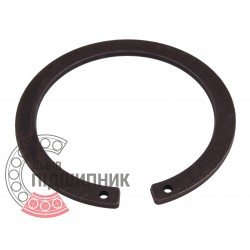 Наружное cтопорное кольцо на вал 55 мм