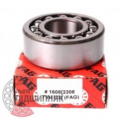 2308-TVH-C3 [FAG] Self-aligning ball bearing
