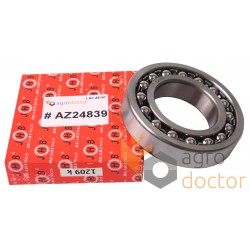 1209K/C3/J30 Self-aligning ball bearing