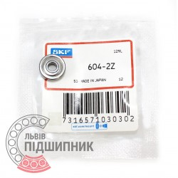 604-2Z [SKF] Deep groove ball bearing