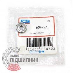 604-2Z [SKF] Deep groove ball bearing