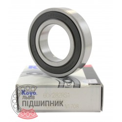 60/28 2RS1GA2 [Koyo] Deep groove ball bearing