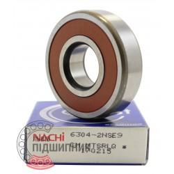 180304 (6304 2RS) [Nachi] Пiдшипник кульковий
