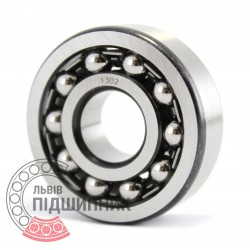 1302 Self-aligning ball bearing