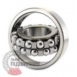 1307 Self-aligning ball bearing