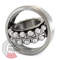 2208 Self-aligning ball bearing