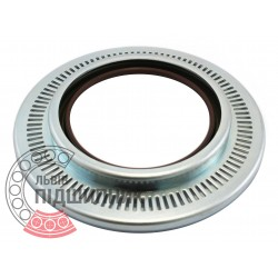 Oil seal 95х120/168х8/19 BFDRW (FPM) - 49355274B [Corteco]