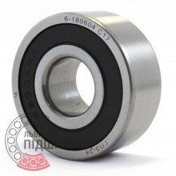 62304-2RS/Р6 [GPZ-34] Deep groove ball bearing