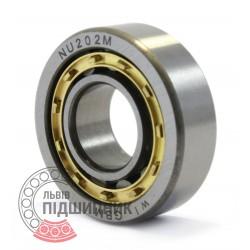32202 (NU202M) [GBM] Пiдшипник роликовий циліндричний