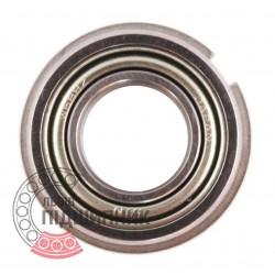688 ZZNR [NTN] Deep groove ball bearing