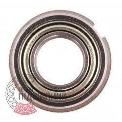 688 ZZNR [NTN] Deep groove ball bearing