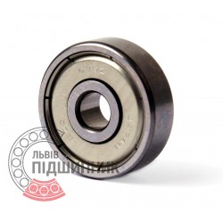 635 ZZ [EZO] Miniature deep groove ball bearing
