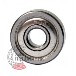 604ZZ [EZO] Deep groove ball bearing