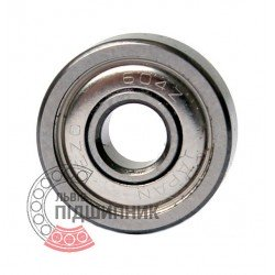 604ZZ [EZO] Deep groove ball bearing