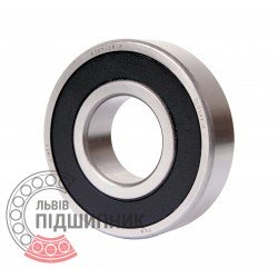 6207-2RSR [Kinex] Deep groove sealed ball bearing