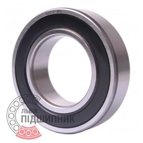 62210 2RS Deep groove ball bearing