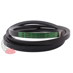 SPC-2000 [Stomil] Standard ремінь привідний клиновий SPC2000 Lw/22х18-1917Li