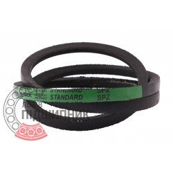 SPZ-1112 [Stomil] Standard ремінь привідний клиновий SPZ1112 Lw/9.7х8-1074Li