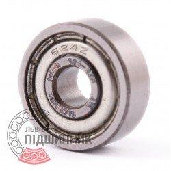 624-2ZR [ZVL] Deep groove ball bearing