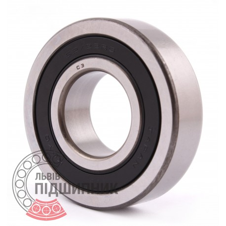 2 Sealed Radial Ball Bearing 62//22RS 22x50x14