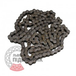 08A-1 [AD] Simplex steel roller chain (pitch= 12.7mm)