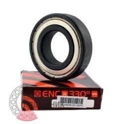 6206 ENC ZZ 330°C [BRL] Deep groove ball bearing