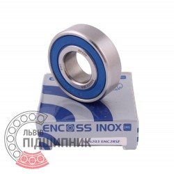 6203 2RS ENC INOX [BRL] Stainless sealed ball bearing