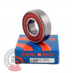 180202 / 6202 ENC 2RS 250°C [BRL] Високотемпературний кульковий підшипник