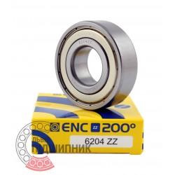 80204 / 6204 ZZ ENC 200° [BRL] Високотемпературний кульковий підшипник