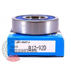 B17-92D [PFI] Deep groove ball bearing