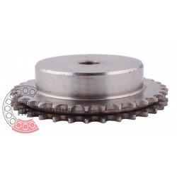 Зірочка ланцюга 05B-2, зубів - 33, d-12мм