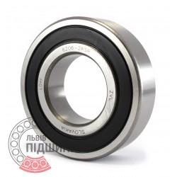 6206-2RS [ZVL] Deep groove ball bearing