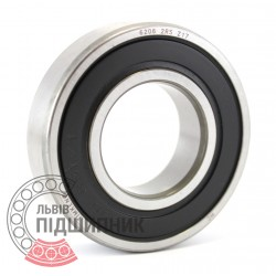 6206 2RS [Timken] Deep groove ball bearing