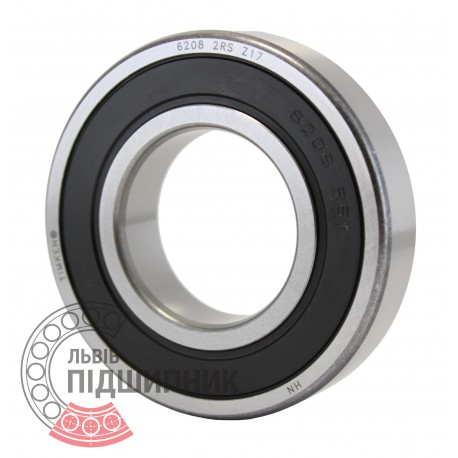 6208 2RS [Timken] Deep groove ball bearing