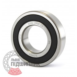 6206-2RS C3 [ZVL] Deep groove ball bearing