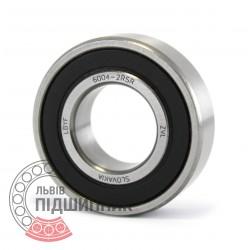 6004-2RS [ZVL] Deep groove ball bearing