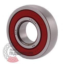 CS305 LLU [NTN] Ball bearing. Spherical outer ring.