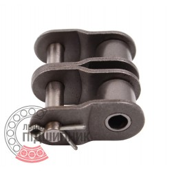 06B-2 [Dunlop] Звено цепи переходное (ПР-9.525 мм)
