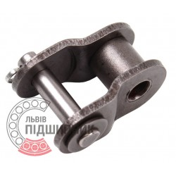 06B-1 [Dunlop] Roller chain offset link (t-9.525 mm)