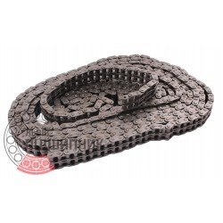 08B-2 [Dunlop] Duplex steel roller chain (pitch- 12.7mm)