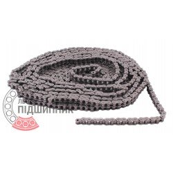 06B-1 [Dunlop] Simplex steel roller chain (pitch- 9.525mm)